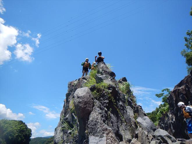岩ジャンプ 富士