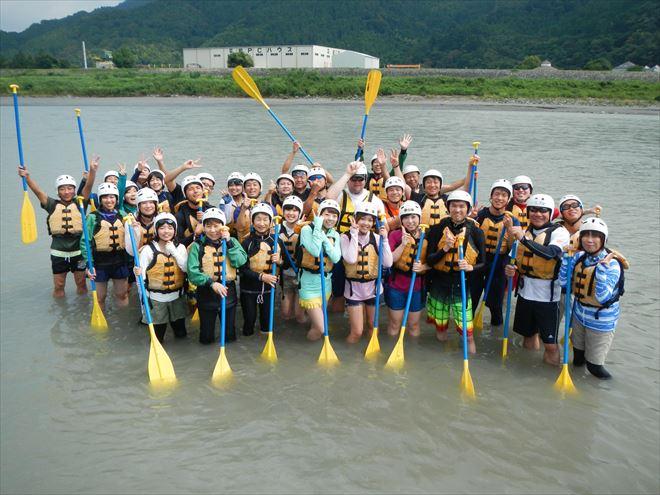 amラフティング 富士川