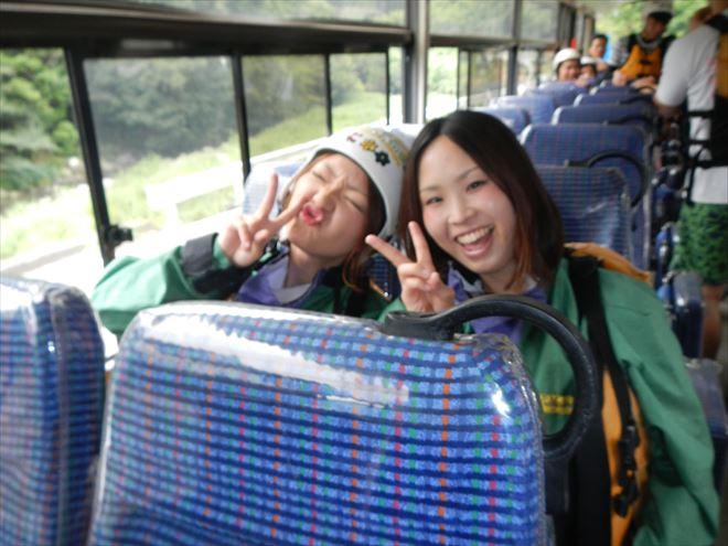 自然遊び バス