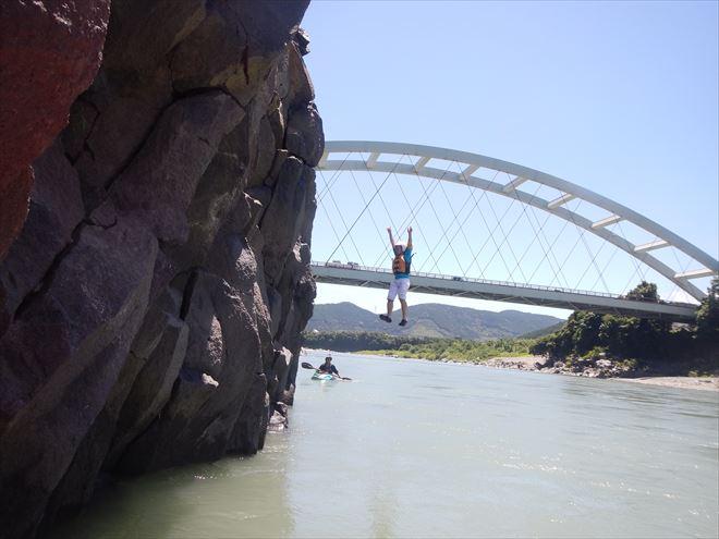ロックジャンプ 飛び込み 静岡
