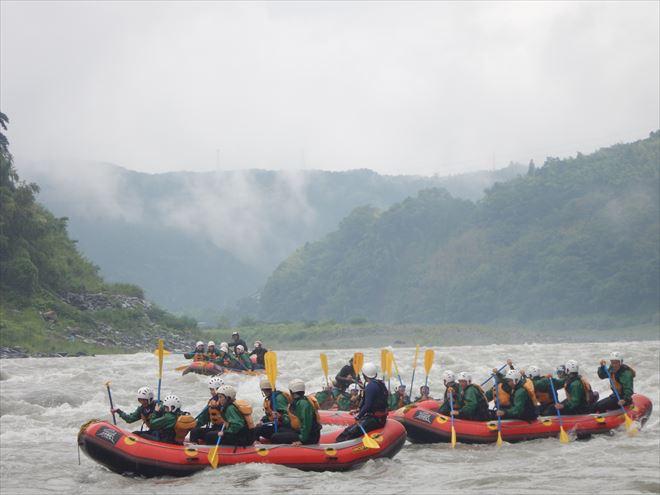 川下り 夏遊び 富士ラフティング