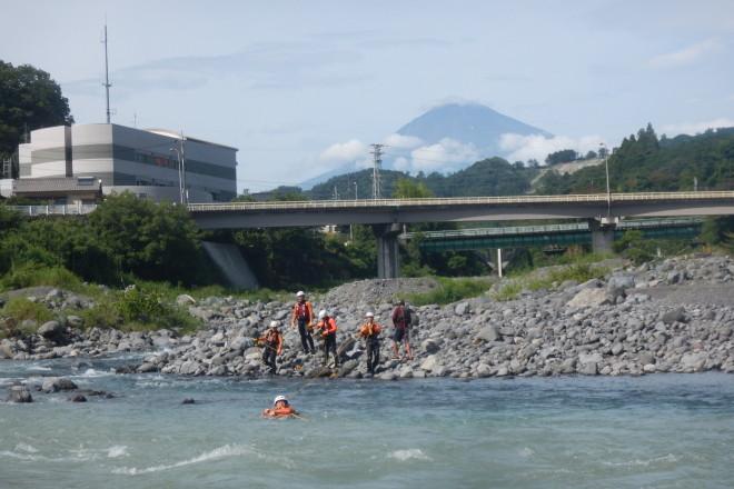 消防 富士山