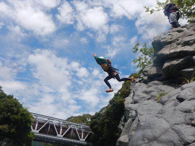 飛び込み 夏遊び
