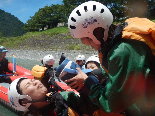 ラフティング富士川 自然