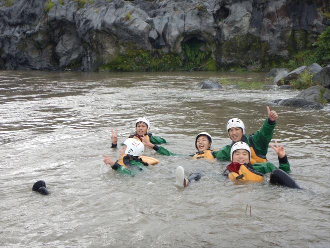 富士川泳ぎ