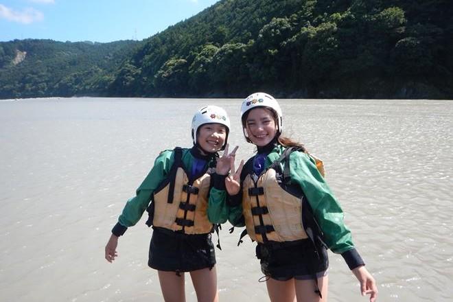 静岡 アウトドア 夏休み 富士川