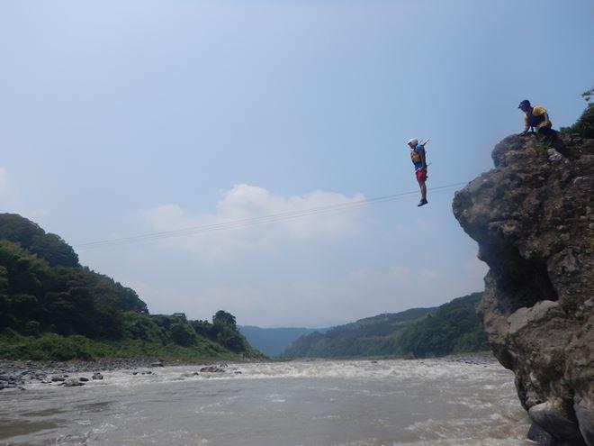 飛込み 川 ツアー