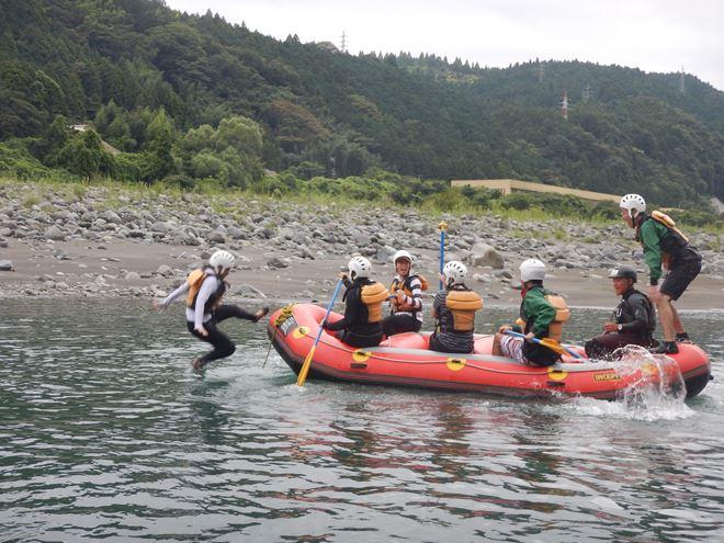 ラフティング アウトドア 富士川