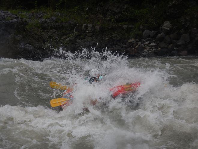 三大急流 静岡県富士川