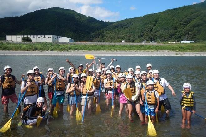 富士川で遊ぼう