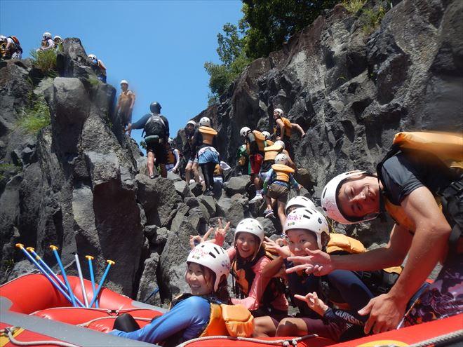 富士川飛び込み 岩ジャンプ