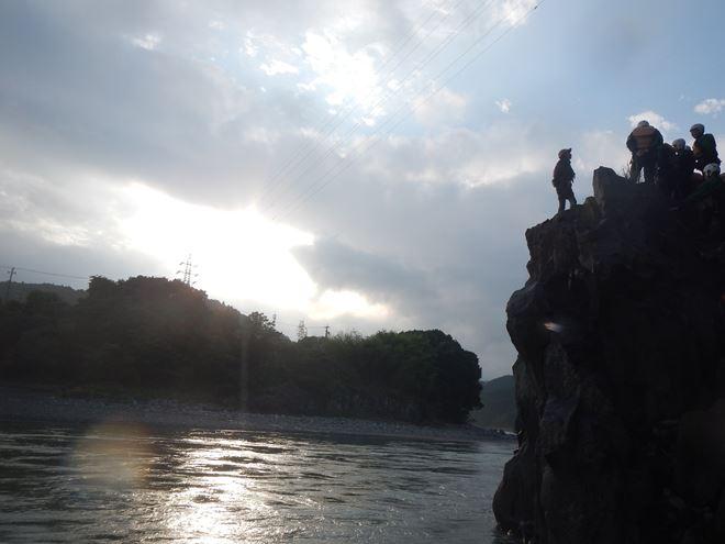 静岡 富士川 景色