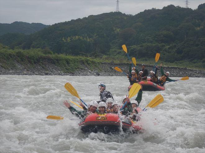 静岡ラフティング 富士川
