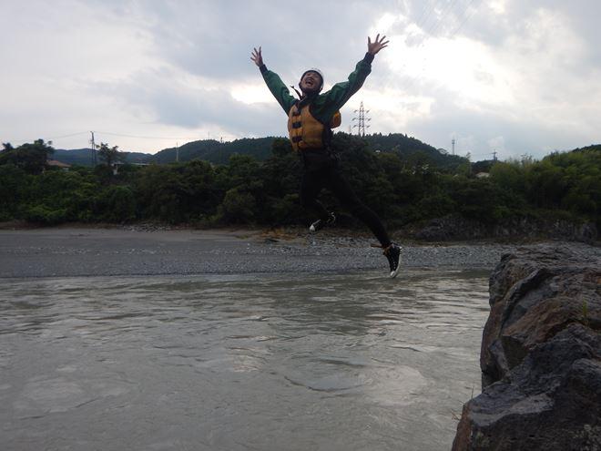 ジャンプ 飛込み 富士川