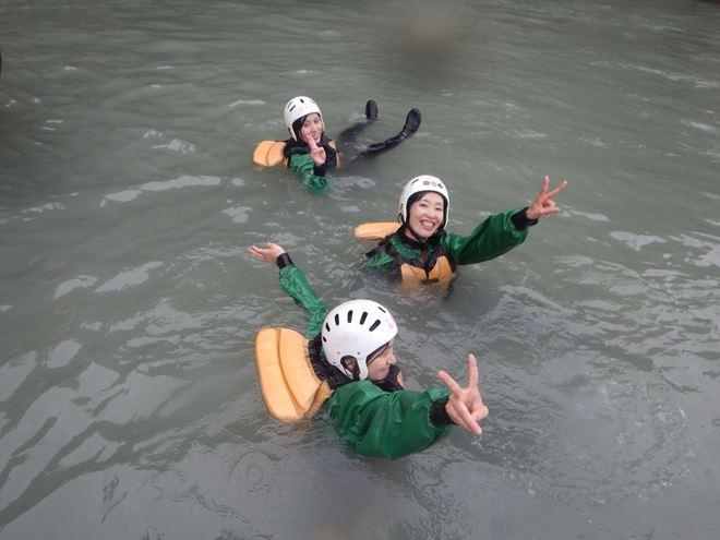 富士川 川遊び ツアー