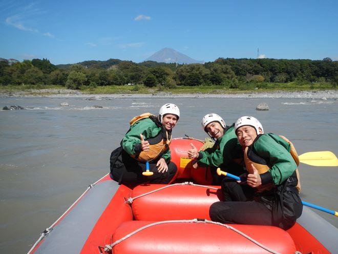 富士山 富士川 ラフティング