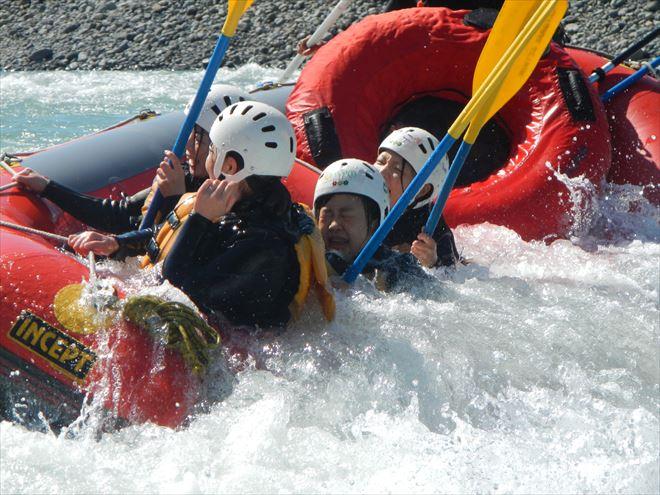 リバーサーフィン 川遊び