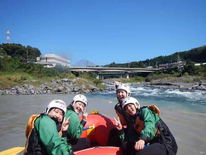 富士山 アウトドア ラフティング