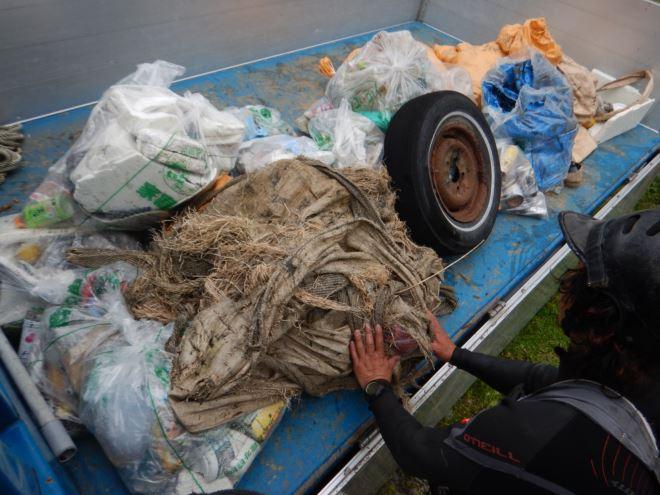 富士川 ゴミ拾い 清掃活動