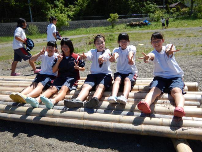 静岡 アウトドア 修学旅行