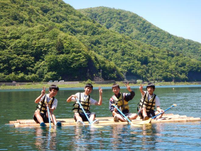 いかだ 静岡 修学旅行