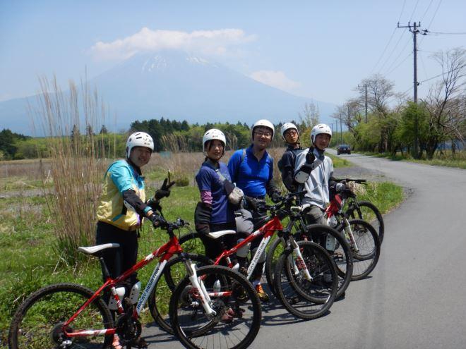富士山 静岡 マウンテンバイク