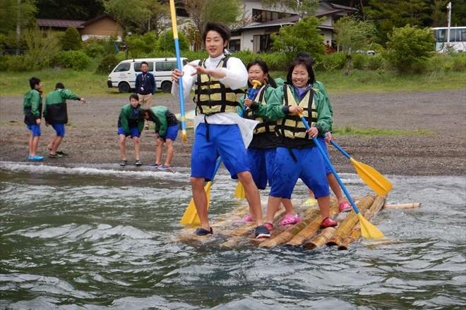 富士宮 修学旅行生徒 体験遊び