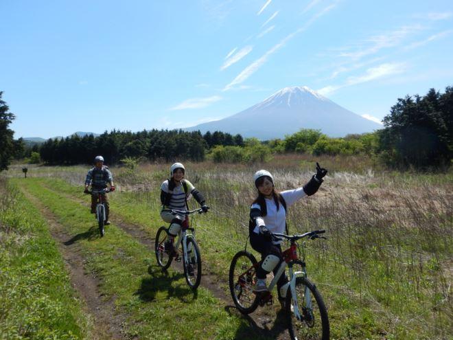富士山 マウンテンバイク ツアー