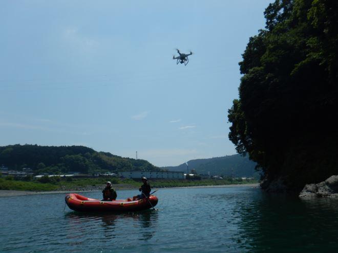 ドローン 半日コース富士川