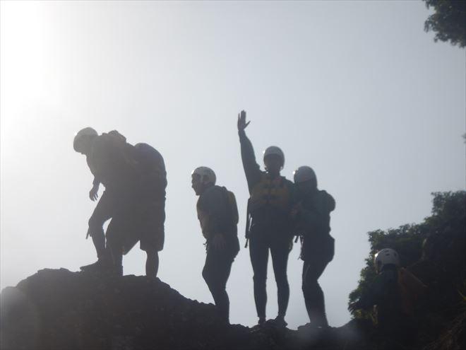 ロックジャンプ 飛び込み 岩