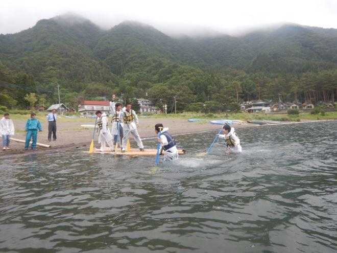 湖遊び 湖泳ぎ