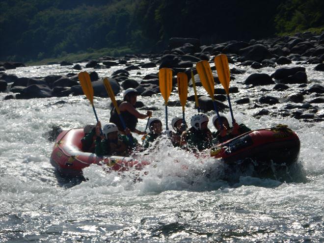 日本三大急流 富士川