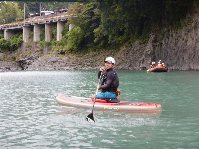 SUP 富士川