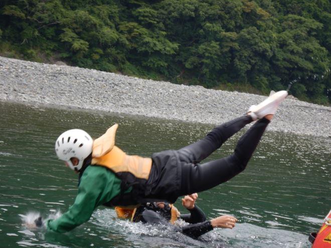 落とされる 富士川 静岡