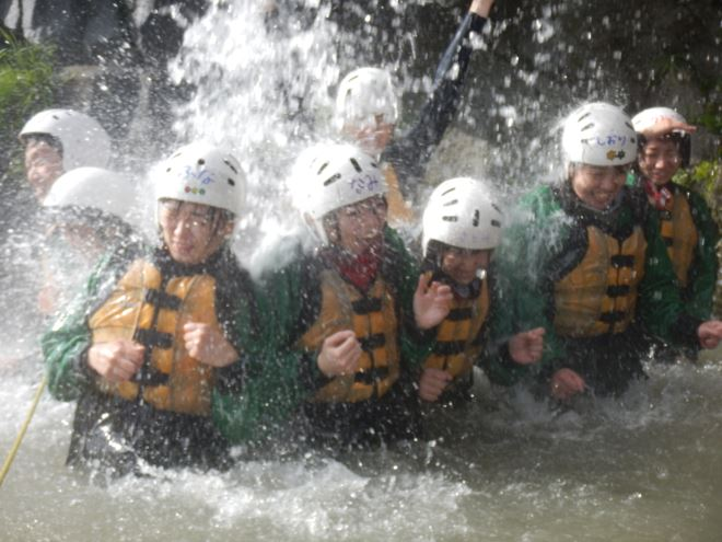 自然 川遊び 静岡