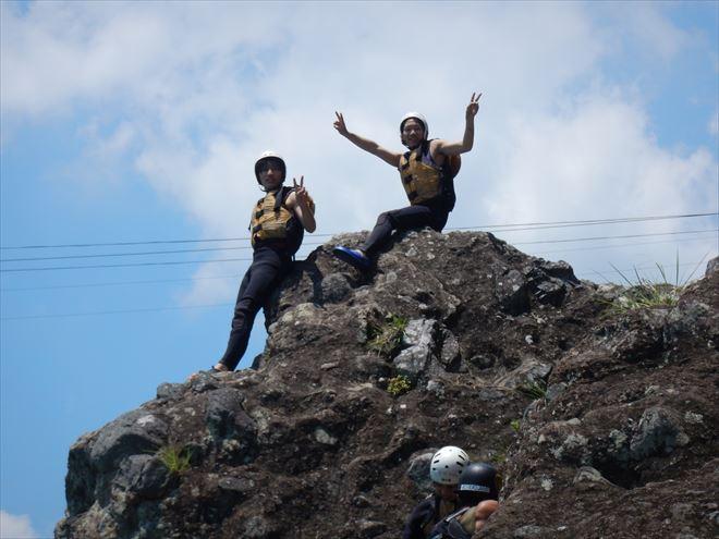 岩ジャンプ 飛び込み 5m