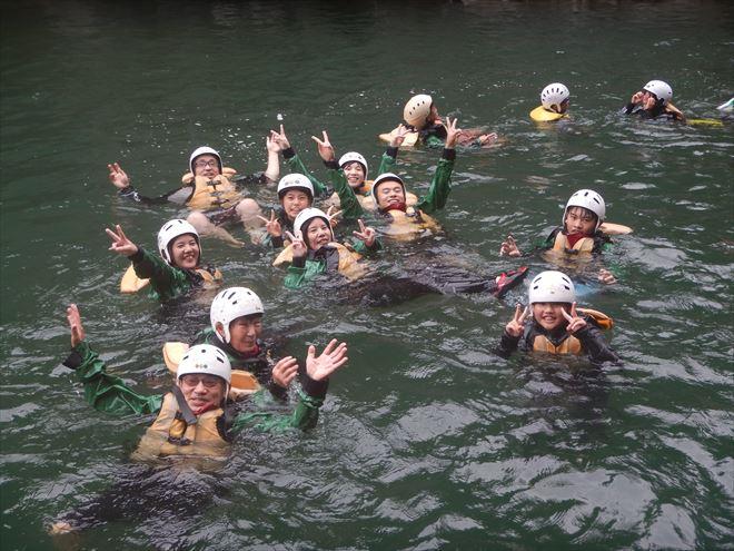 静岡富士川 川泳ぎ