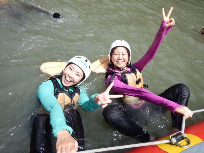 川泳ぎ 川遊び 静岡