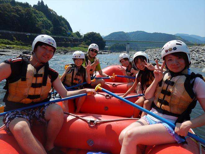 午後ラフティング 静岡ラフティング 富士川遊び