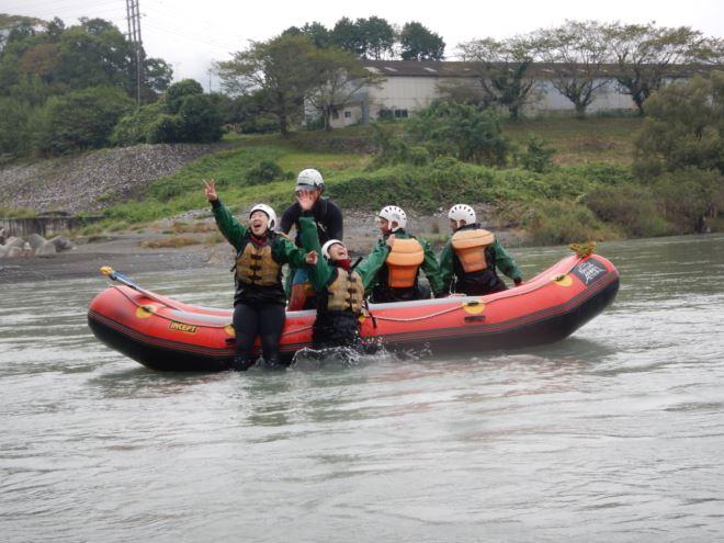 ラフティング 楽しい 富士川