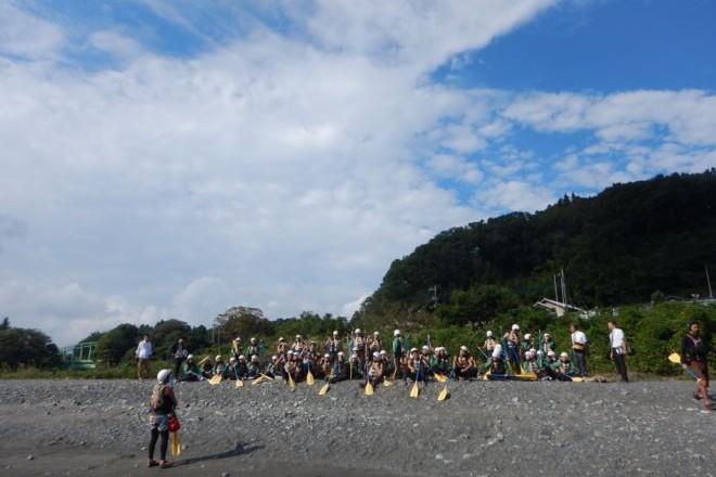団体遊び 静岡 生徒 晴れ