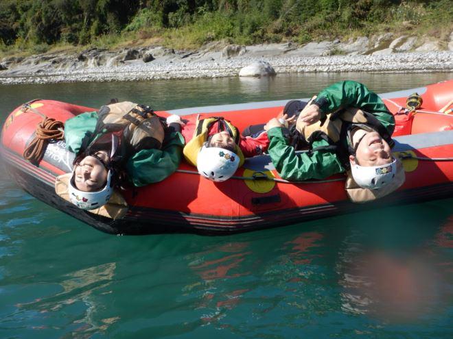 家族でまったり 富士川観光 10月遊び