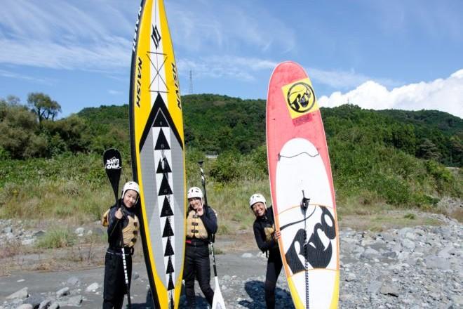 静岡 富士川 SUP