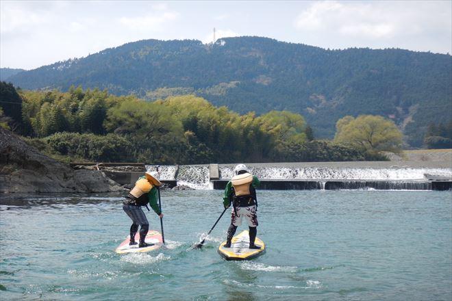 静岡 自然 SUP