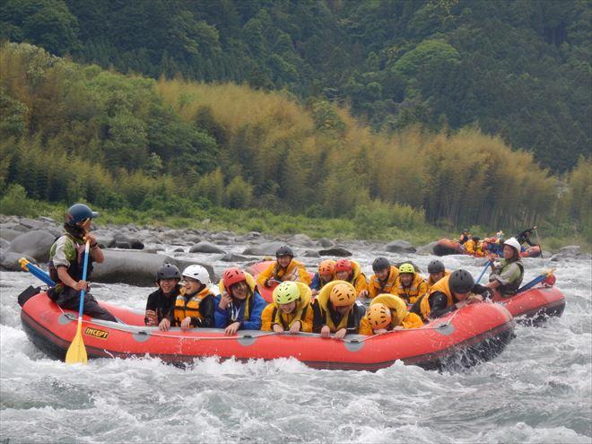 急流体験学習 教育旅行観光