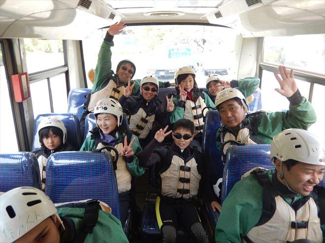 GWおすすめ 富士川ラフティング