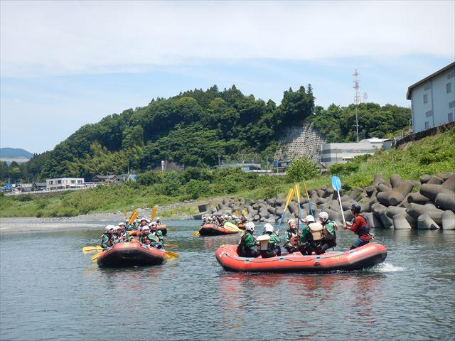 静岡おすすめ教育旅行 富士川自然体験