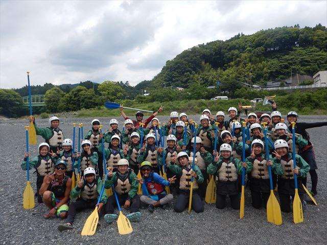 富士川修学旅行 自然体験静岡