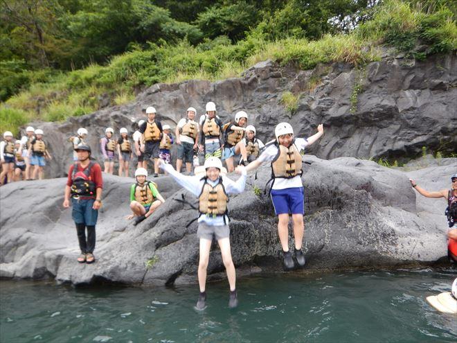 飛び込み 川遊びで危険をしる
