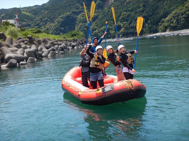 富士川 国際 ラフティング